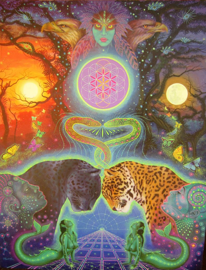 AYAHUASCA VISIONARY ART - Nimea Kaya Retreat Center in Peru